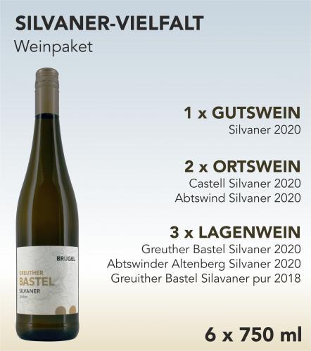 Weinpaket SILVANER-VIELFALT